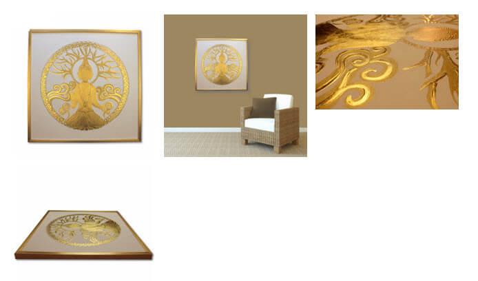 Goldbuddha 24 Karat Blattgold