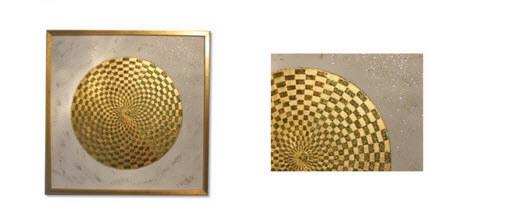 Goldkugel 24 Karat Blattgold
