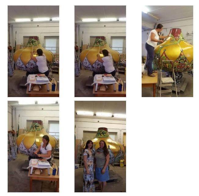 Goldkuppel Kunsthaus Vorschaubilder