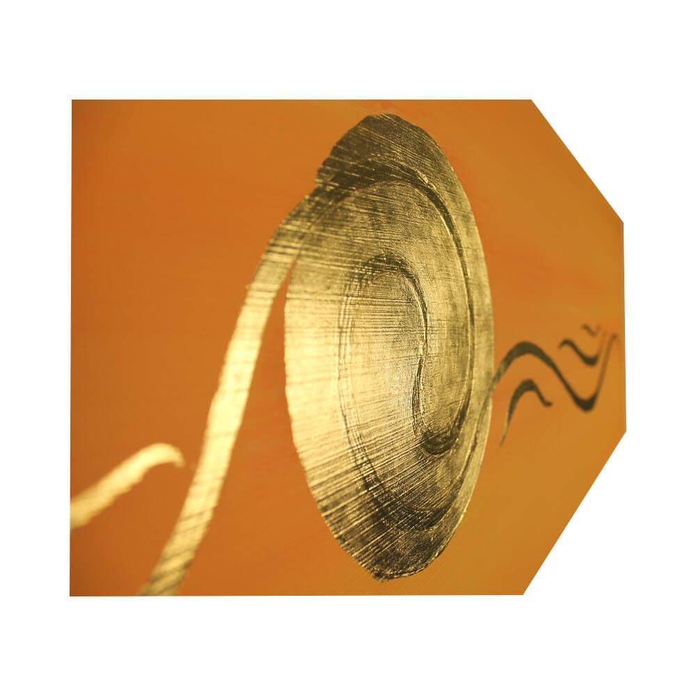 Spirale Bild 24 Karat Blattgold
