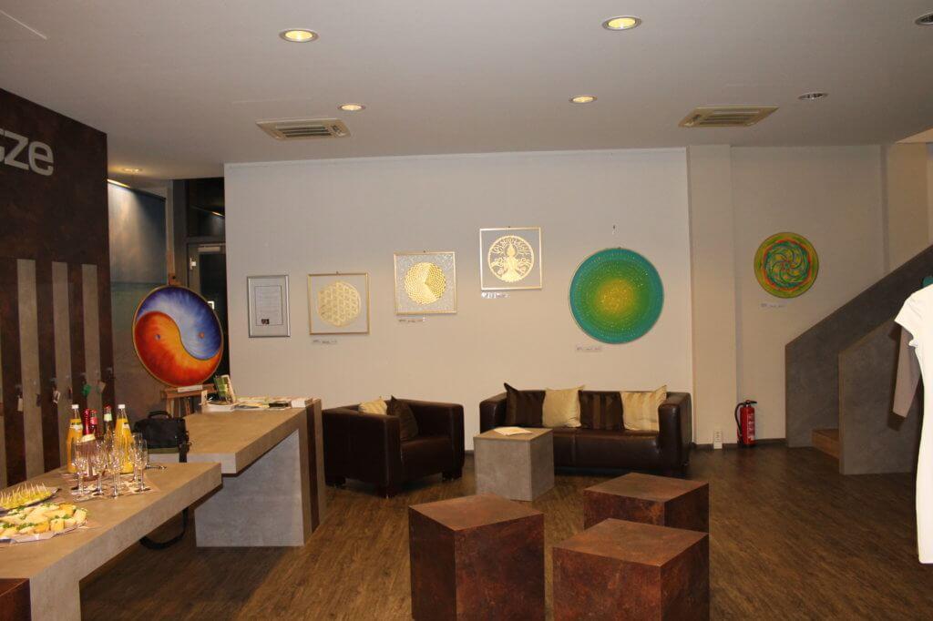 Goldbilder Ausstellung